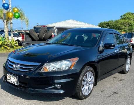 2012 Honda Accord for sale at PONO'S USED CARS in Hilo HI