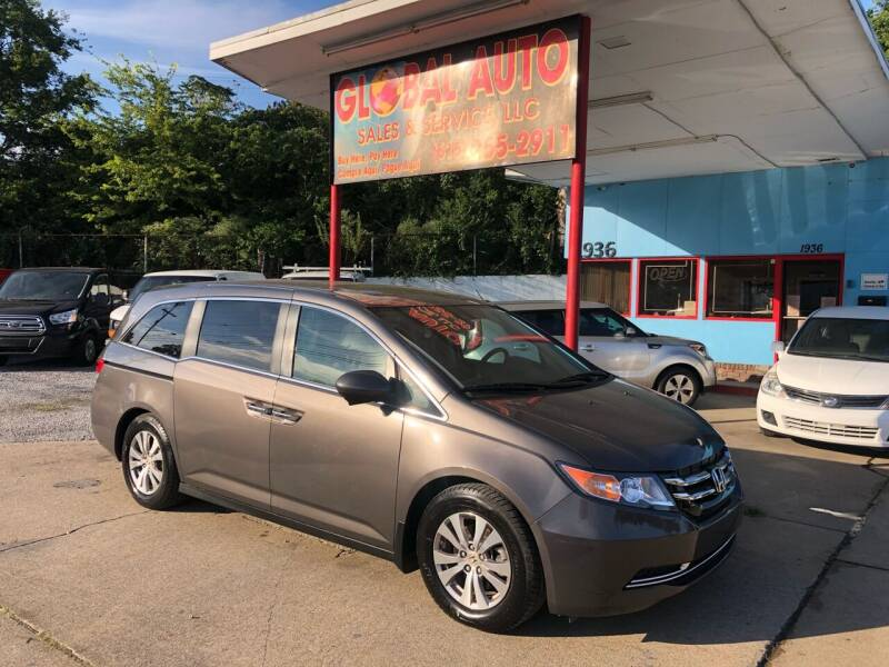 2014 Honda Odyssey for sale at Global Auto Sales and Service in Nashville TN