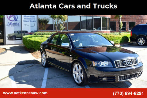 2004 Audi S4 for sale at Atlanta Cars and Trucks in Kennesaw GA