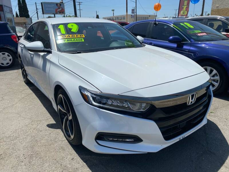 2019 Honda Accord for sale at CAR GENERATION CENTER, INC. in Los Angeles CA