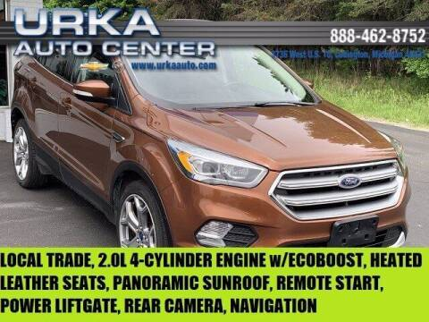 2017 Ford Escape for sale at Urka Auto Center in Ludington MI