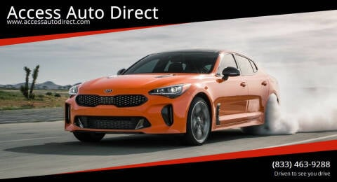 2019 Kia Stinger for sale at Access Auto Direct in Baldwin NY