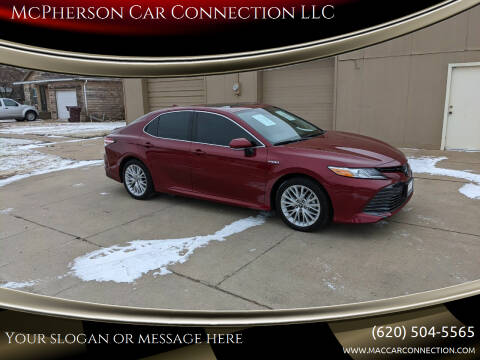 2019 Toyota Camry Hybrid for sale at McPherson Car Connection LLC in Mcpherson KS