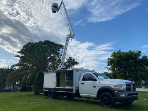 2011 RAM Ram Chassis 5500 BUCKET TRUCK READY TO WORK - Fort Lauderdale FL