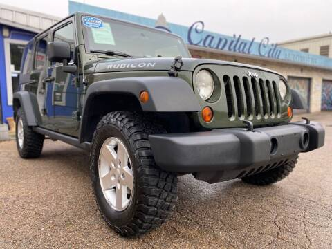 2009 Jeep Wrangler Unlimited for sale at Capital City Automotive in Austin TX