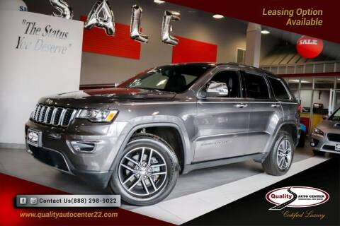 2018 Jeep Grand Cherokee for sale at Quality Auto Center of Springfield in Springfield NJ