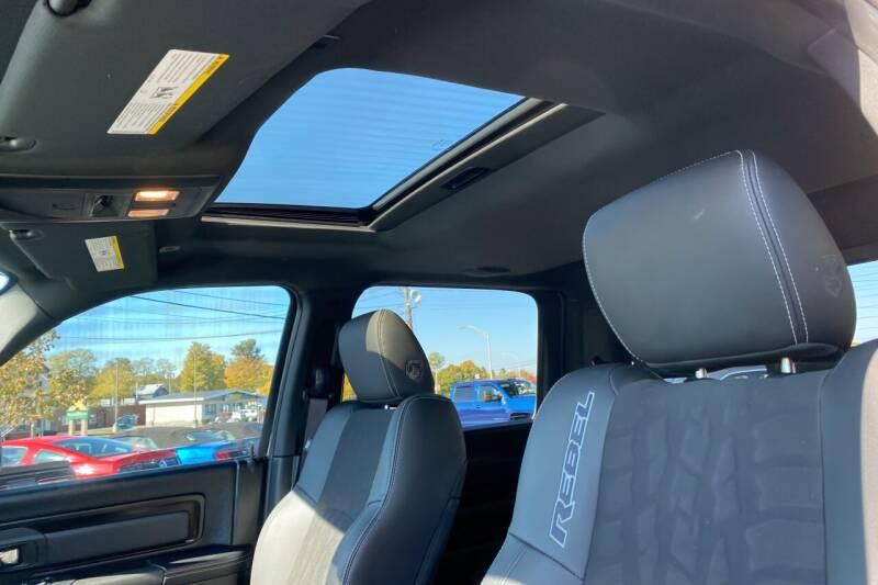 2017 RAM Ram Pickup 1500 4x4 Rebel 4dr Crew Cab 5.5 ft. SB Pickup - East Greenbush NY