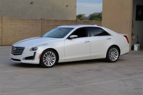 2018 Cadillac CTS for sale at CLASSIC SPORTS & TRUCKS in Peoria AZ