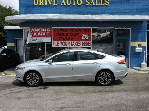 2017 Ford Fusion for sale at Drive Auto Sales & Service, LLC. in North Charleston SC
