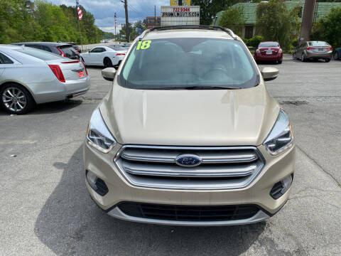 2018 Ford Escape for sale at J Franklin Auto Sales in Macon GA
