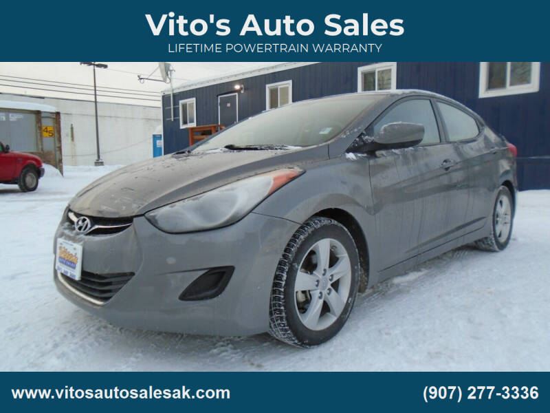 2013 Hyundai Elantra for sale at Vito's Auto Sales in Anchorage AK