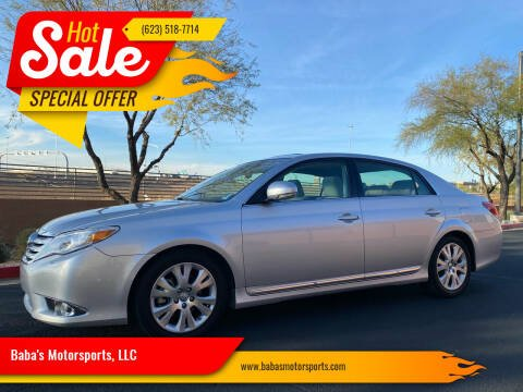 2012 Toyota Avalon for sale at Baba's Motorsports, LLC in Phoenix AZ