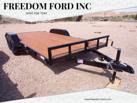 2021 FF OFFROAD 7x16 Car Hauler for sale at Freedom Ford Inc in Gunnison UT