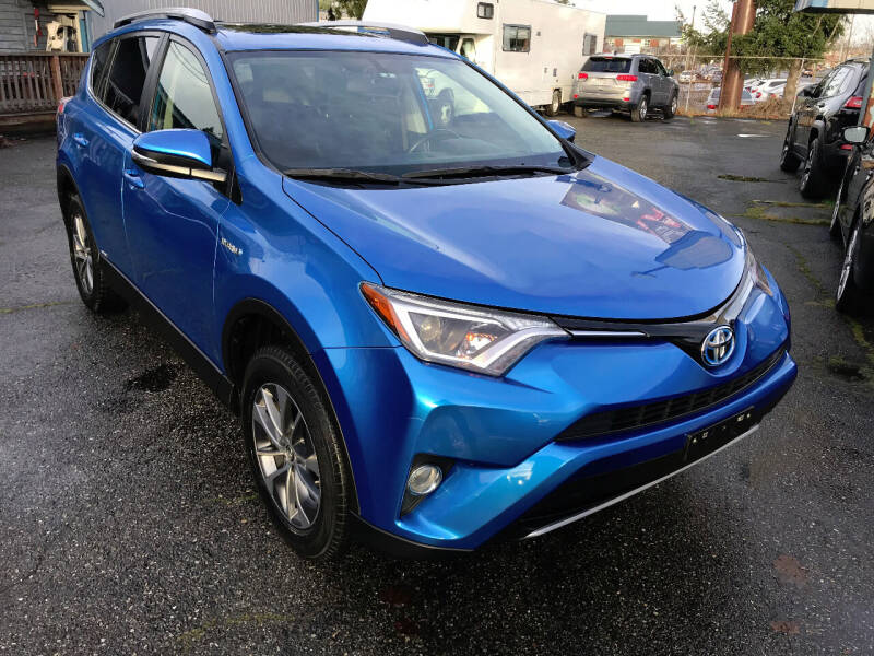 2016 Toyota RAV4 Hybrid for sale at Autos Cost Less LLC in Lakewood WA