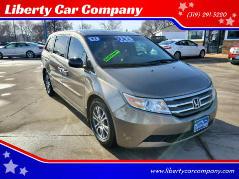 2011 Honda Odyssey for sale at Liberty Car Company in Waterloo IA