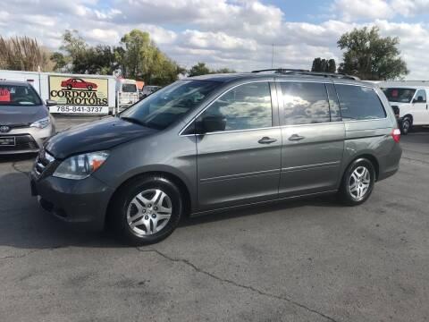 2007 Honda Odyssey for sale at Cordova Motors in Lawrence KS