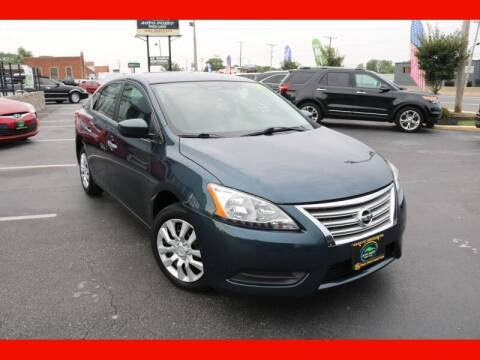 2014 Nissan Sentra for sale at AUTO POINT USED CARS in Rosedale MD