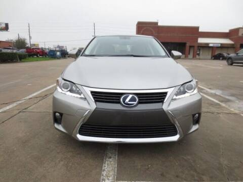 2017 Lexus CT 200h for sale at MOTORS OF TEXAS in Houston TX