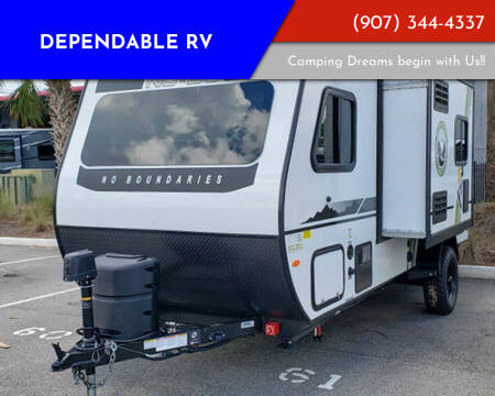 2021 Forest River No Boundaries 16.6 for sale at Dependable RV in Anchorage AK