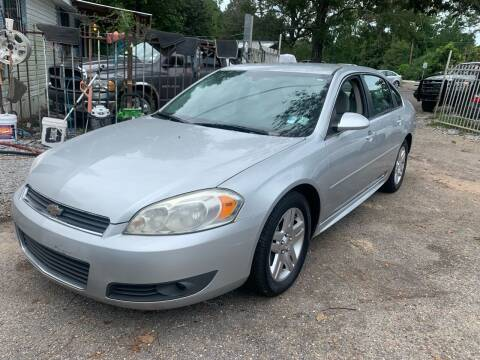 2011 Chevrolet Impala for sale at Triple A Wholesale llc in Eight Mile AL