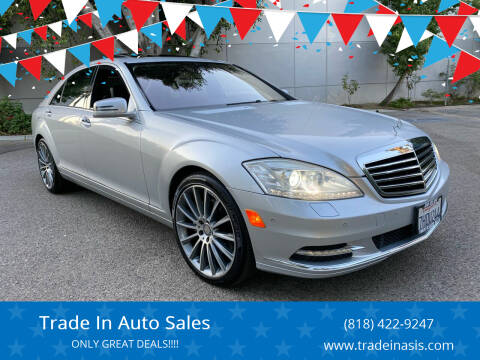 2011 Mercedes-Benz S-Class for sale at Trade In Auto Sales in Van Nuys CA
