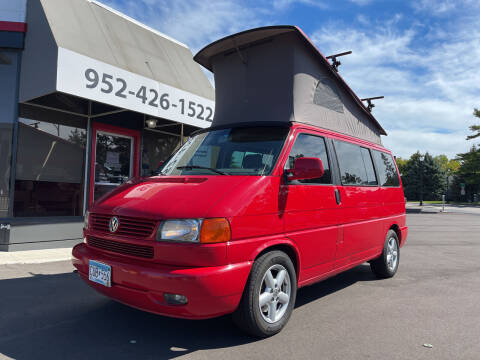 2002 Volkswagen EuroVan for sale at Mainstreet Motor Company in Hopkins MN