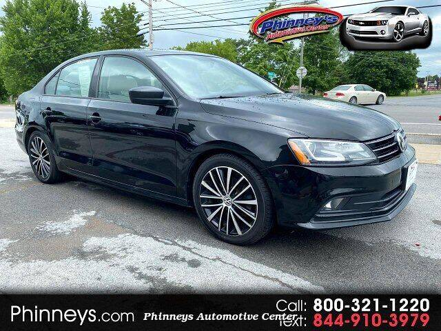 2016 Volkswagen Jetta for sale at Phinney's Automotive Center in Clayton NY