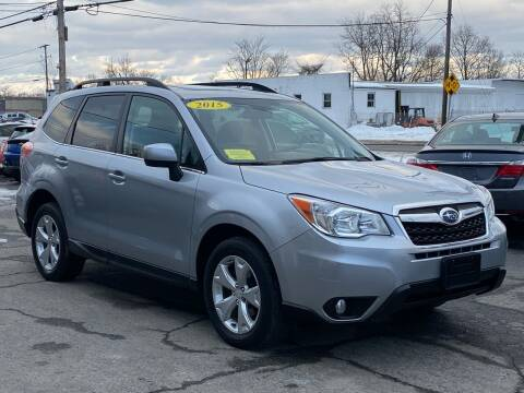 2015 Subaru Forester for sale at MetroWest Auto Sales in Worcester MA