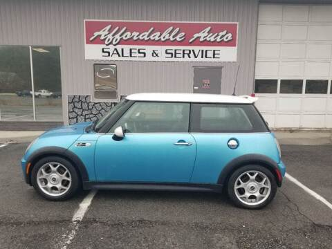 2002 MINI Cooper for sale at Affordable Auto Sales & Service in Berkeley Springs WV