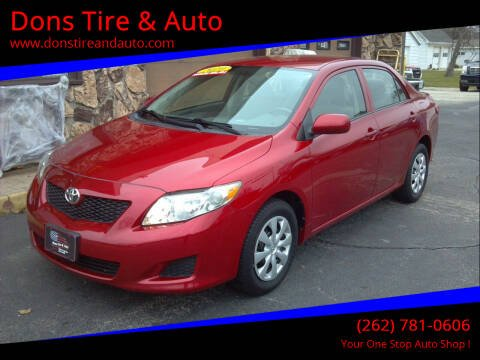 2010 Toyota Corolla for sale at Dons Tire & Auto in Butler WI
