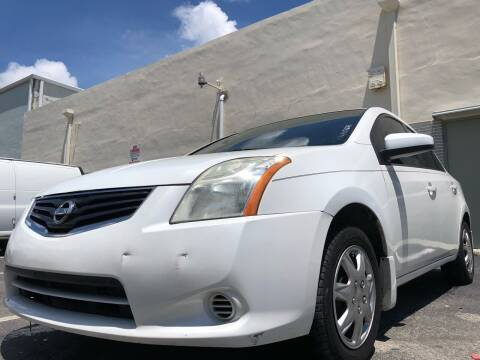 2010 Nissan Sentra for sale at Eden Cars Inc in Hollywood FL