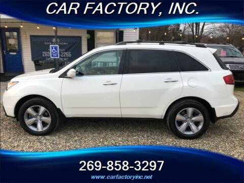 2012 Acura MDX for sale at Car Factory Inc. in Three Rivers MI