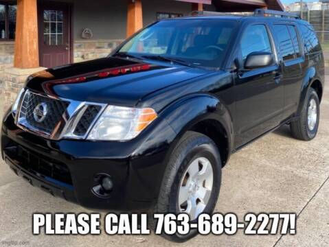 2008 Nissan Pathfinder for sale at Affordable Auto Sales in Cambridge MN