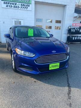 2013 Ford Fusion for sale at Pikeside Automotive in Westfield MA