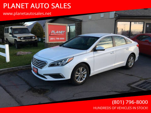 2017 Hyundai Sonata for sale at PLANET AUTO SALES in Lindon UT