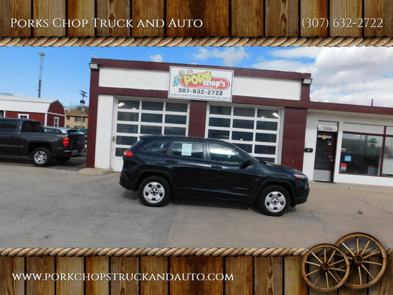2014 Jeep Cherokee for sale at Porks Chop Truck and Auto in Cheyenne WY