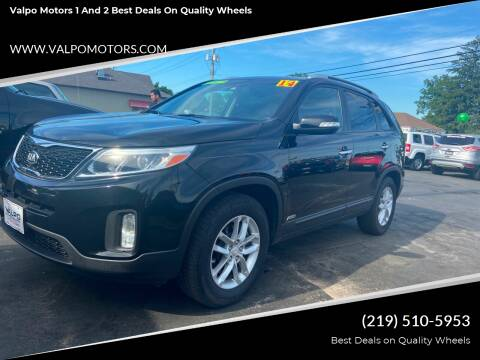 2014 Kia Sorento for sale at Valpo Motors 1 and 2  Best Deals On Quality Wheels in Valparaiso IN