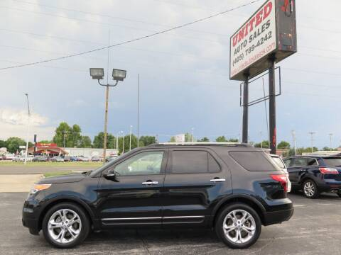 2015 Ford Explorer for sale at United Auto Sales in Oklahoma City OK