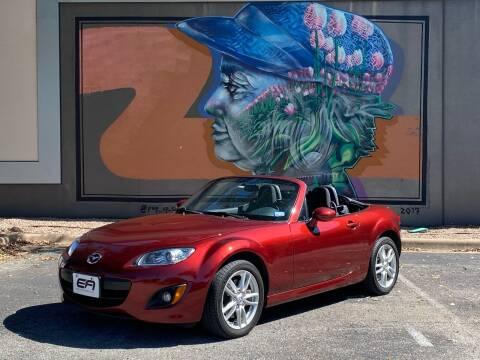 2012 Mazda MX-5 Miata for sale at EA Motorgroup in Austin TX