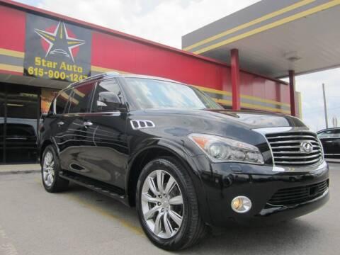 2011 Infiniti QX56 for sale at Star Auto Inc. in Murfreesboro TN