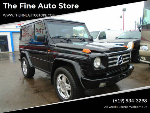 1993 Mercedes-Benz G-Class for sale at The Fine Auto Store in Imperial Beach CA