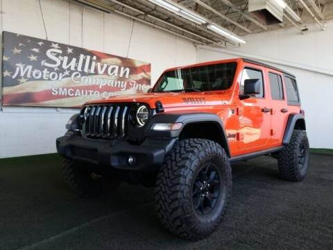 2020 Jeep Wrangler Unlimited for sale at SULLIVAN MOTOR COMPANY INC. in Mesa AZ