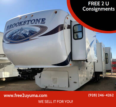 2011 Coachmen Brookestone for sale at FREE 2 U Consignments in Yuma AZ