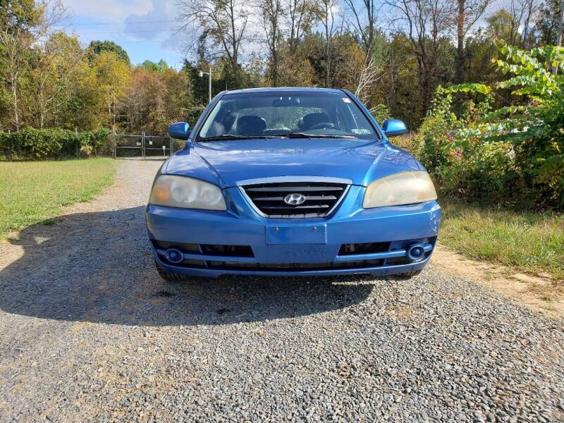 2005 Hyundai Elantra for sale at Richards's Auto Sales & Salvage in Denton NC