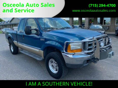 2000 Ford F-250 Super Duty for sale at Osceola Auto Sales and Service in Osceola WI