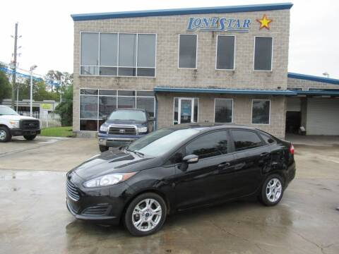 2016 Ford Fiesta for sale at Lone Star Auto Center in Spring TX