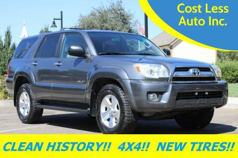 2007 Toyota 4Runner for sale at Cost Less Auto Inc. in Rocklin CA