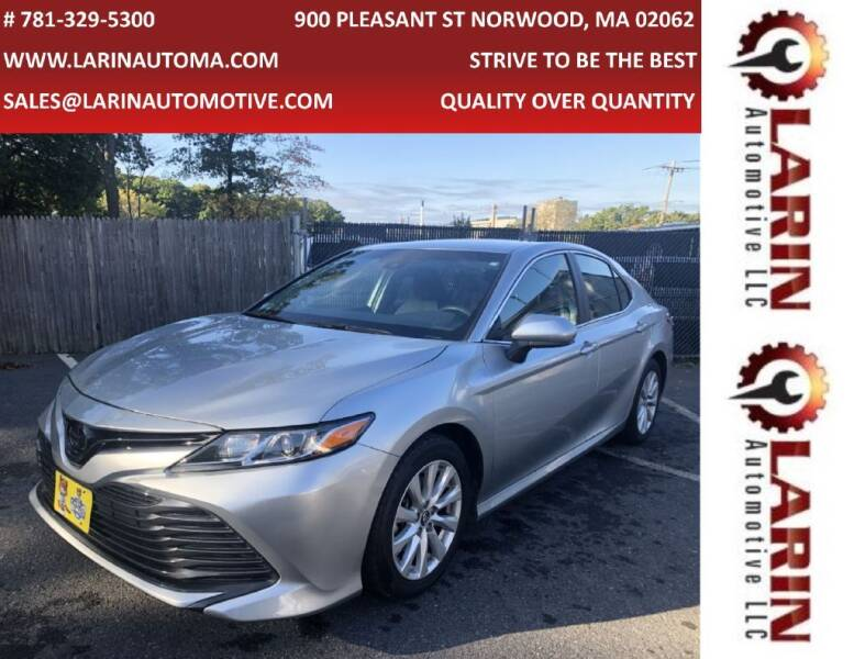 2018 Toyota Camry for sale at LARIN AUTO in Norwood MA