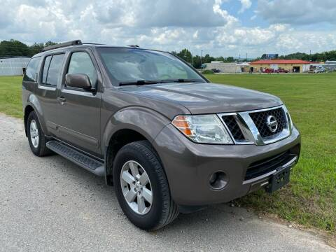 2008 Nissan Pathfinder for sale at Tennessee Valley Wholesale Autos LLC in Huntsville AL