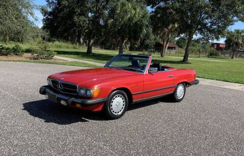 1987 Mercedes-Benz 560-Class for sale at P J'S AUTO WORLD-CLASSICS in Clearwater FL